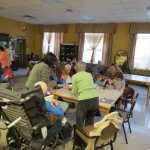 RK seniors and preschool make crafts