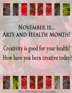 November arts health