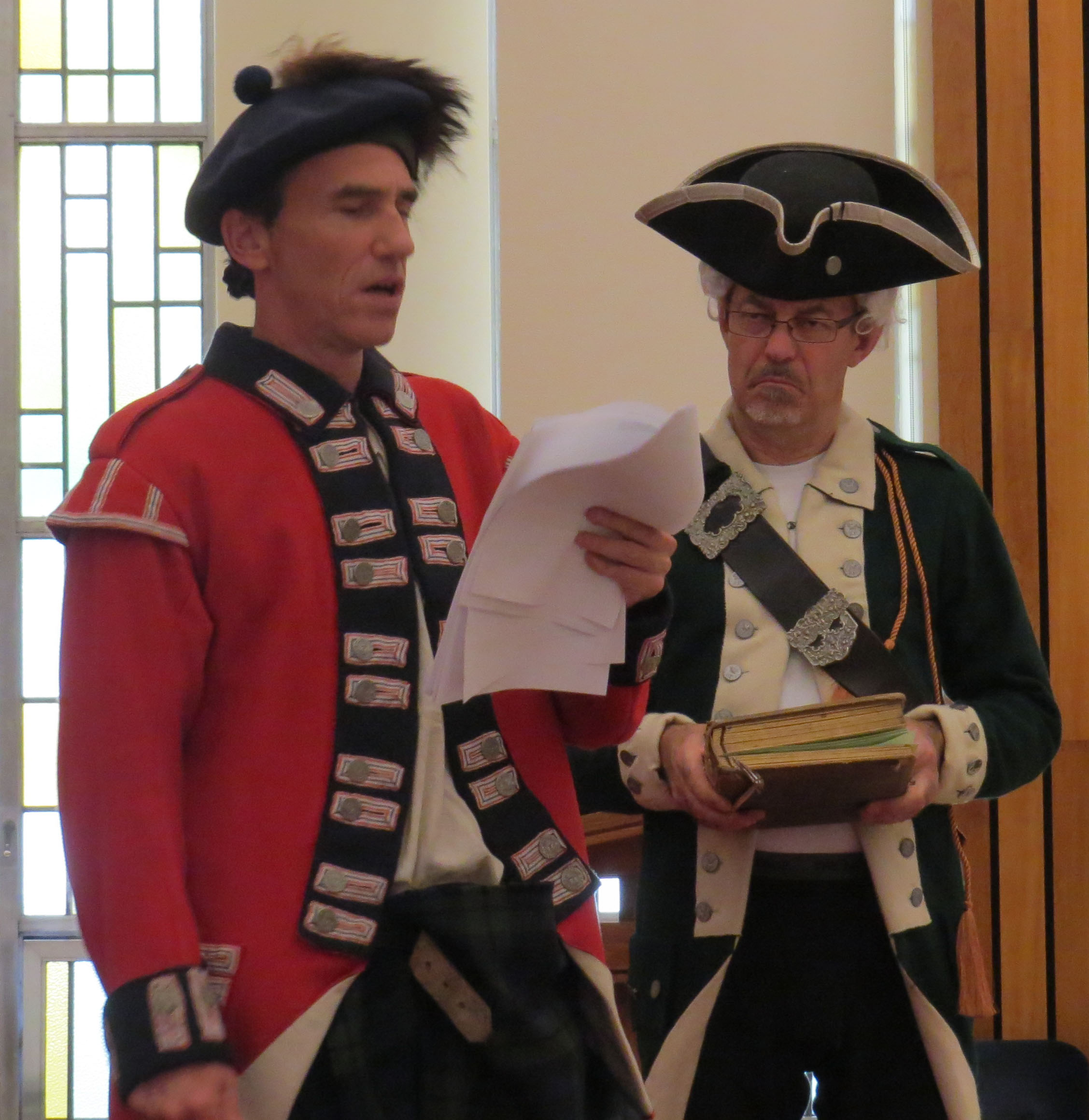 Stacy Septon as Loyalit soldier, Phillip Cooper as Col. Timothy Hierlihy