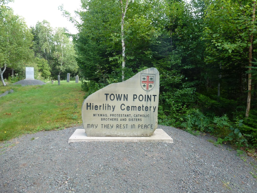 Town Point - Antigonish. Hierlihy Cemetary