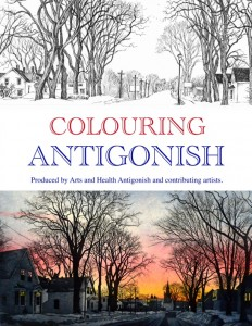 Colouring Antigonish with Arts Health Antigonish and local artis