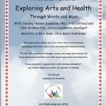 Exploring Arts & Health through Words & Music